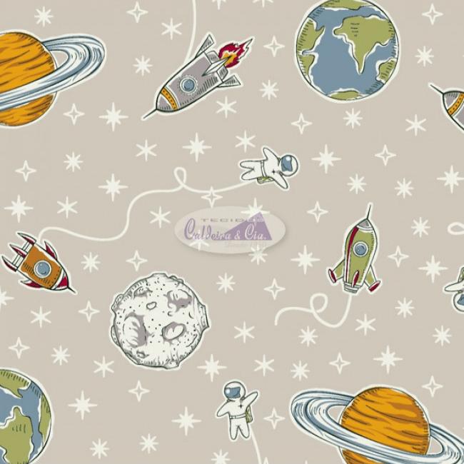 TECIDO ESTAMPADO 100% ALGODÃO SPACE 180628-05