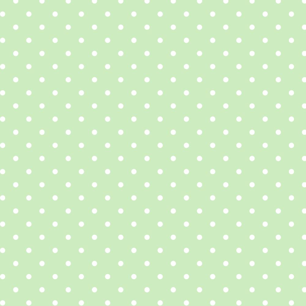 Tecido Tricoline Estampado 100% Algodão Bolinhas Poás Verde Água c/ Branco 1401-28