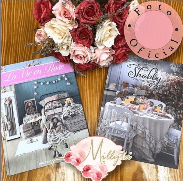 Combo 2 Livros: Shabby Romantic e La Vie em Rose