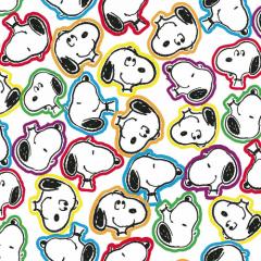 Tecido Tricoline Personagens Snoopy SN025C01