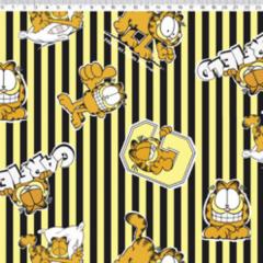 Tecido Tricoline Personagens Garfield GA012C01
