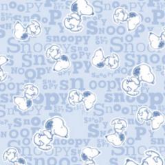 Tecido Tricoline Personagens Snoopy SN014C01