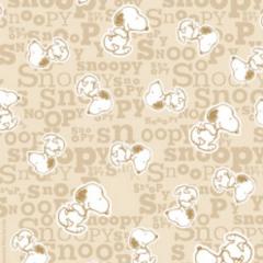 Tecido Tricoline Personagens Snoopy SN014C03