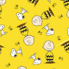 Tecido Tricoline Personagens Snoopy SN015C01
