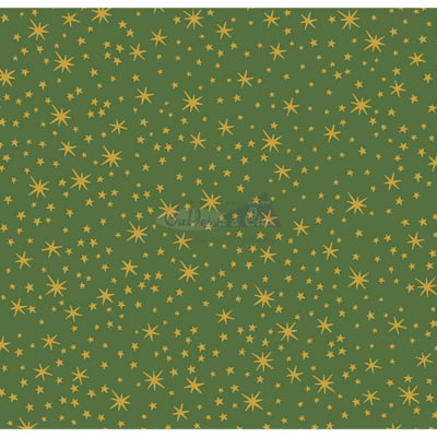 Tecido Tricoline Estampado Natal Cor - 11 (Verde)