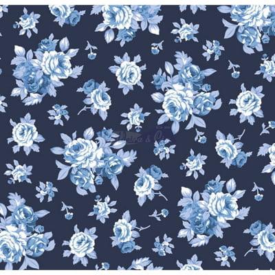 Tecido Tricoline Estampado 100% Algodão Floral 180690-01