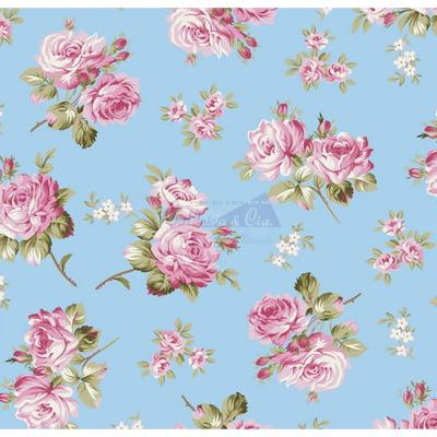 Tecido Tricoline Estampado 100% Algodão Floral 180686-05