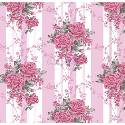 Tecido Tricoline Estampado 100% Algodão Floral 180687-04