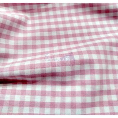 Tecido Fio Tinto Xadrez 9XM Cor - 1128-28 (Rosa)