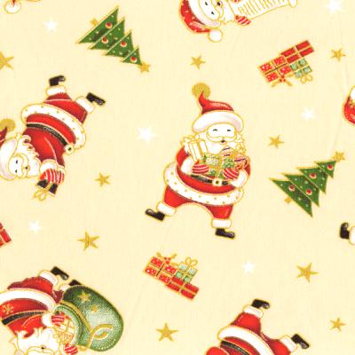 Tecido Tricoline Estampado Natal 180203-01