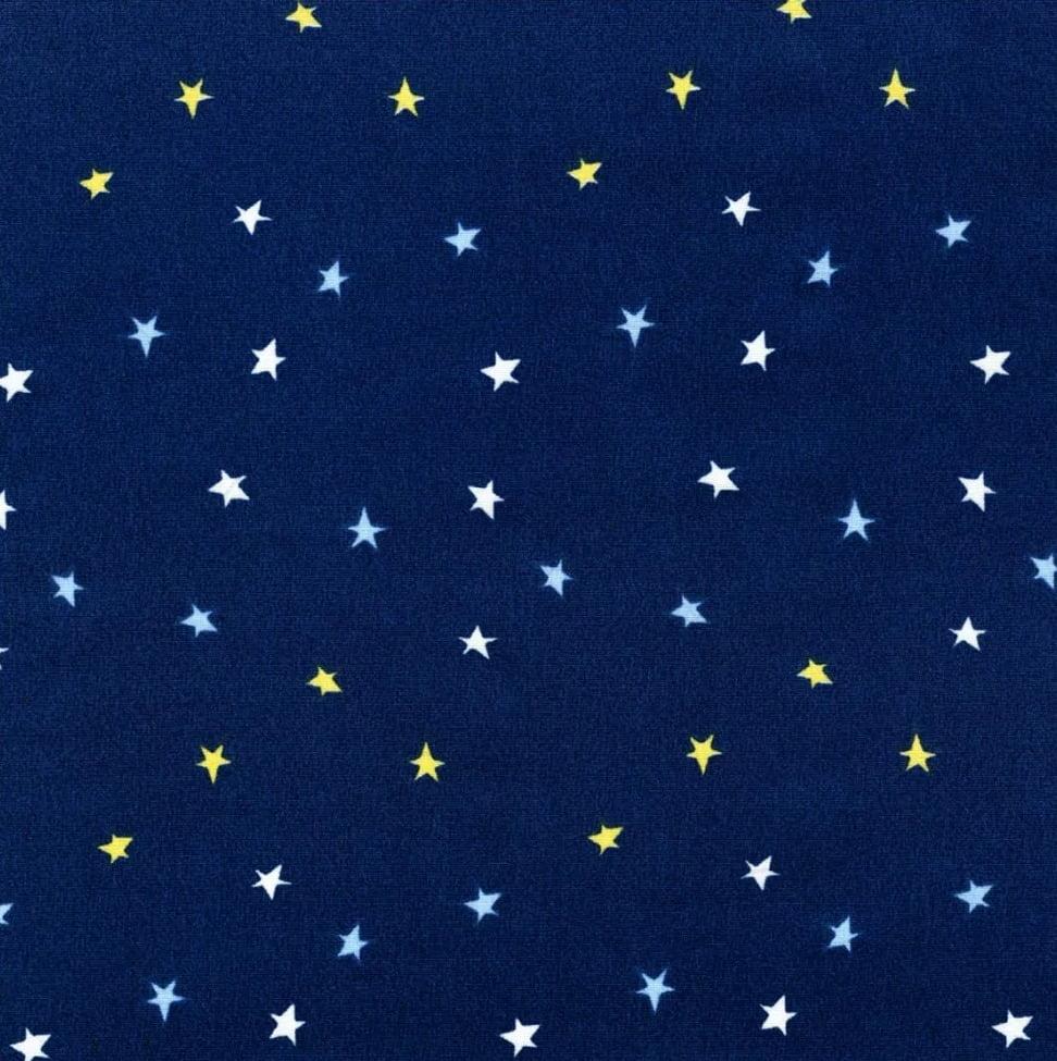 Tecido Tricoline Estrelas 100% Algodão