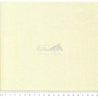 Tecido Tricoline  Fio Tinto Listrado D.Juan Cor - 1022A (Amarelo)