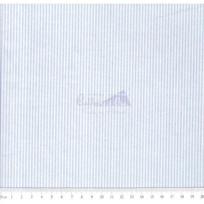 Tecido Tricoline Fio Tinto Listrado D.Juan Cor - 1024A (Azul)