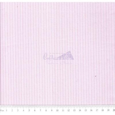 Tecido Tricoline Fio Tinto Listrado D.Juan Cor - 1102A (Rosa)