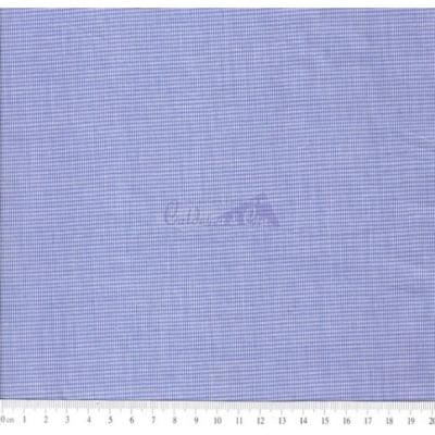 Tecido Tricoline Fio Tinto Micro Xadrez 0XM Cor - 1045 (Royal)