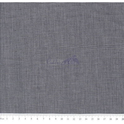Tecido Tricoline Fio Tinto Micro Xadrez 0XM Cor - 1049 (Preto)
