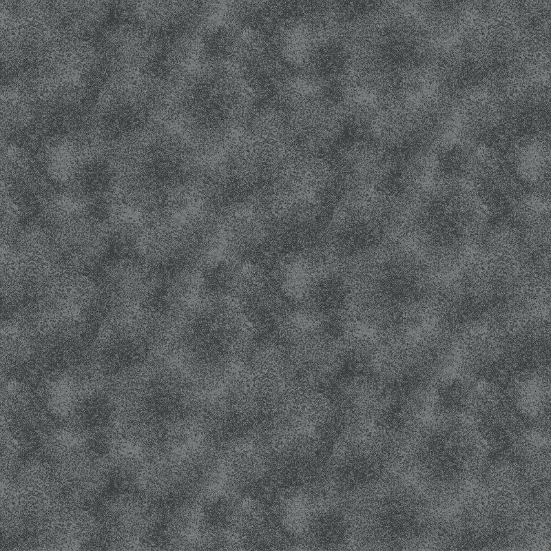 Tecido Tricoline Estampado Poeirinhas Cinza
